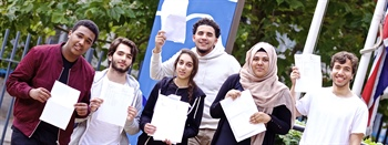 2016 - Students Celebrate Continued A Level Success
