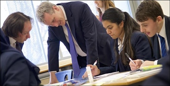 Secretary State for Education Visits Paddington Academy