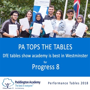 PADDINGTON ACADEMY TOPS THE TABLES